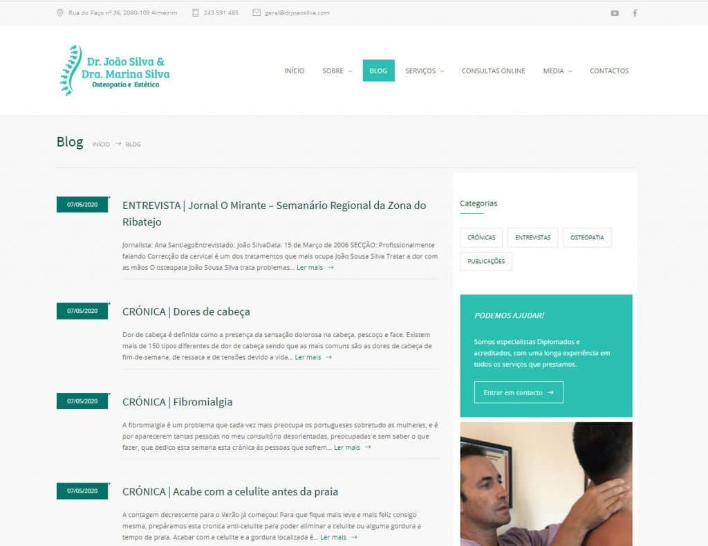 Dr. João Silva | Blog
